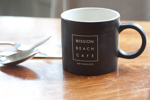 Mission Beach Cafe coffee