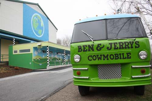 Ben & Jerrys Waterbury Factory