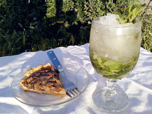 derby pie and mint julep