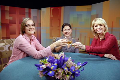Novella Carpenter, Rebecca Katz and Leslie Sbrocco