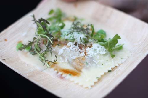 Thomas McNaughton's Ravioli Doppio of Pork and Pea