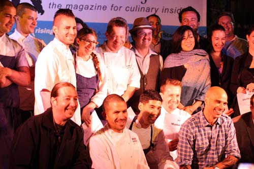 Rising Star Chefs and Mentors