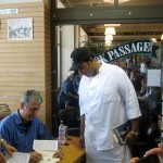Bottles and Books (Not Drugs) for Bourdain's Ferry Building Visit