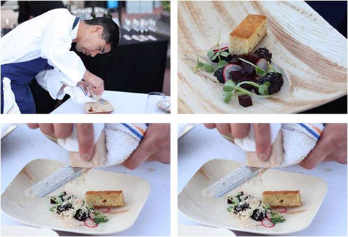 Scott Nishiyama's Foie Gras Neige