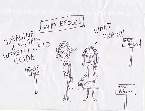 whole foods cartoon