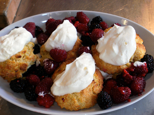 Double Berry Shortcake