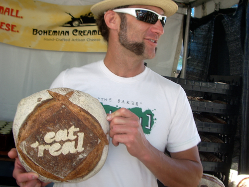 baker at Eat Real Festival