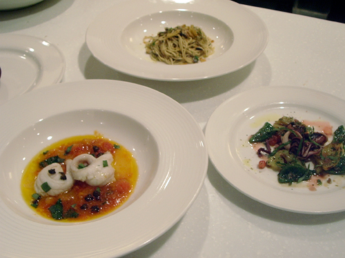 Delfina dishes