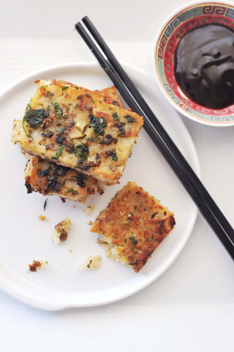 White Turnip Pudding Cake (Lo Bok Go)