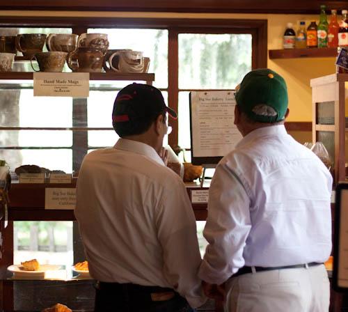 Big Sur Bakery customers