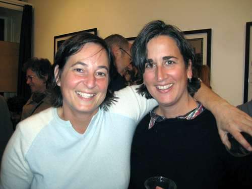 Celia Sack and Paula Harris