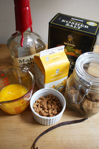 Butterscotch Pudding Ingredients