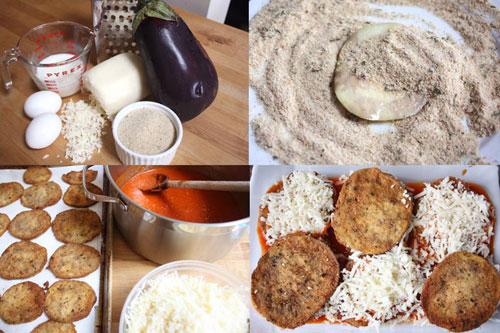 Making of Eggplant Parm magic