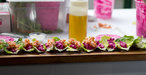 Beet Tzatzkiki & Smoked Trout Lettuce Cups_Starbelly