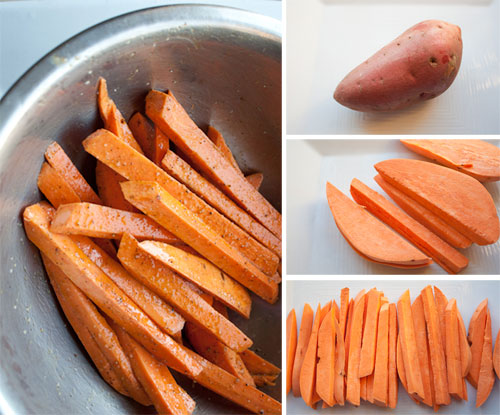 DIY Sweet Potato Fries