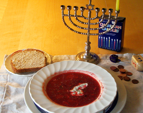 borscht for Chanukah