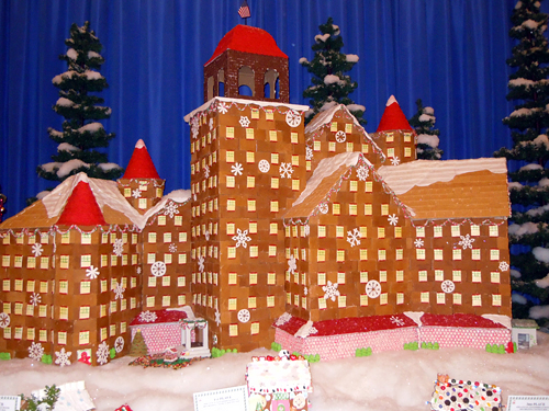 Claremont gingerbread house
