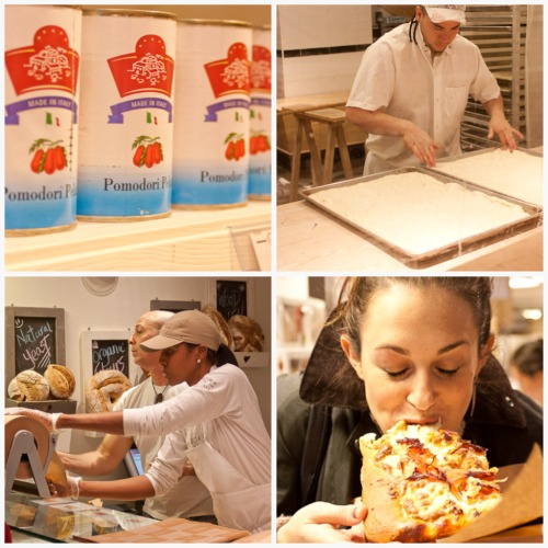 pizza at Eataly
