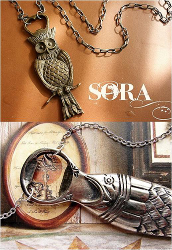 Sora Designs bottle opener necklace