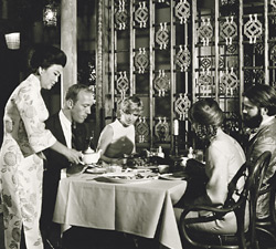 The Mandarin Restaurant in Ghirardelli Square. Photo credit: San Francisco History Center, San Francisco Public Library