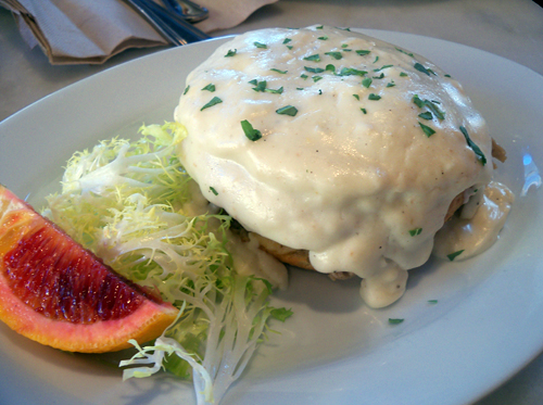 Croque Madame. Photo by Mary Ladd
