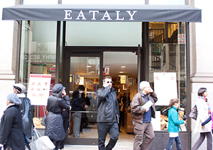 Eataly in NYC. Photo by Megan Gordon