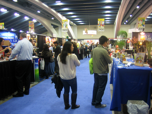 2011 Fancy Food Show at Moscone Center in SF