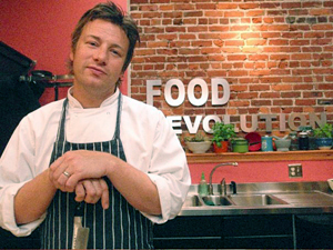 Jamie Oliver Food Revolution. Photo by Colleen Laffey