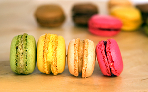 macarons - Photo by Stephanie Stiavetti