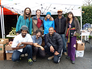 Phat Beets Produce is a food justice collective in Oakland - the Beet Crew. Photo by Zachary Matthews