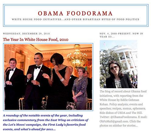 Obama Foodorama - The Year in White House Food - 2010