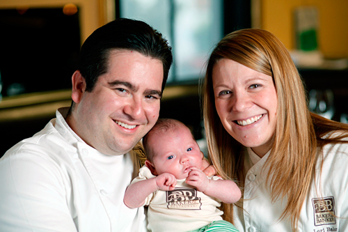 Chefs Jeff Banker and Lori Baker + Jackson Banker