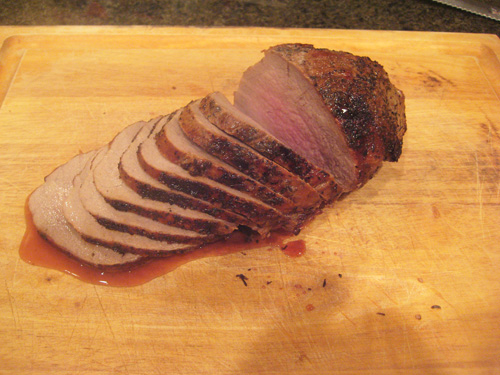 cutting your roast beef