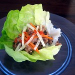 Super Bowl Lettuce Wraps