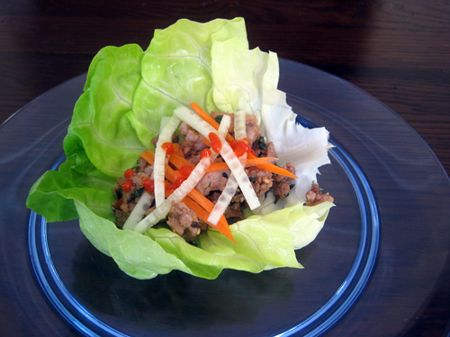 superbowl lettuce wraps