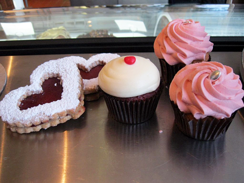 Valentine Treats from Baker and Banker. Photo credit: Craig Lee