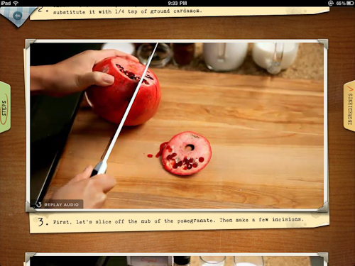 Appetites Video Cooking App