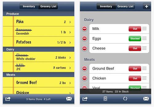 Tap Grocer app