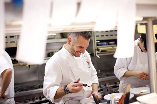 Chef David Bazirgan. Photo by Meigan Canfield