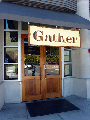 Gather entrance