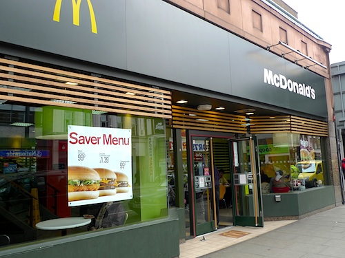 European McDonalds