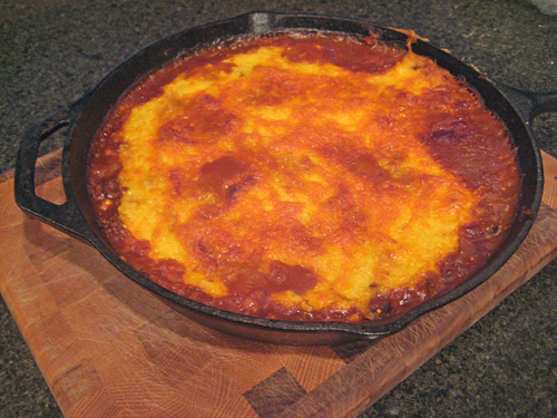 Pan of Tamale Pie
