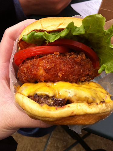 shack stack at shake shack
