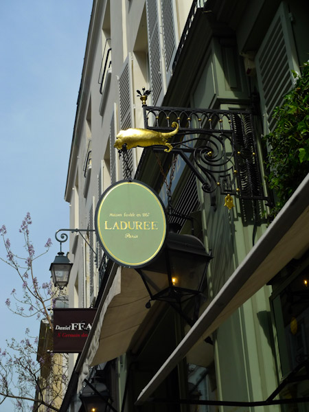 Laduree, Paris