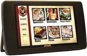 e-la-carte menu