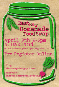 Food Swap Oakland flyer