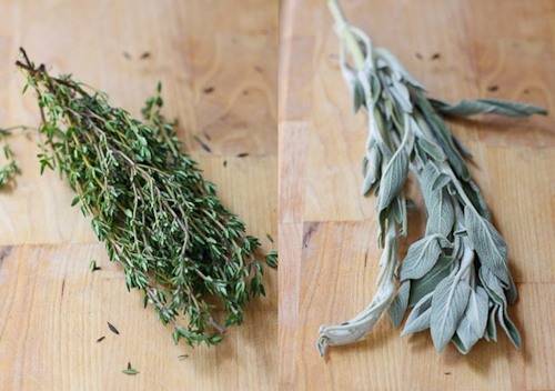 Thyme + Sage