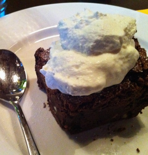 bar bocce brownie