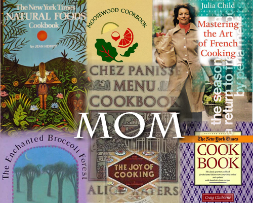 MOM cookbook collage