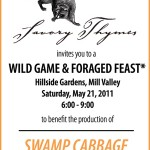 Wild Game Feast: Swamp Cabbage Film Benefit